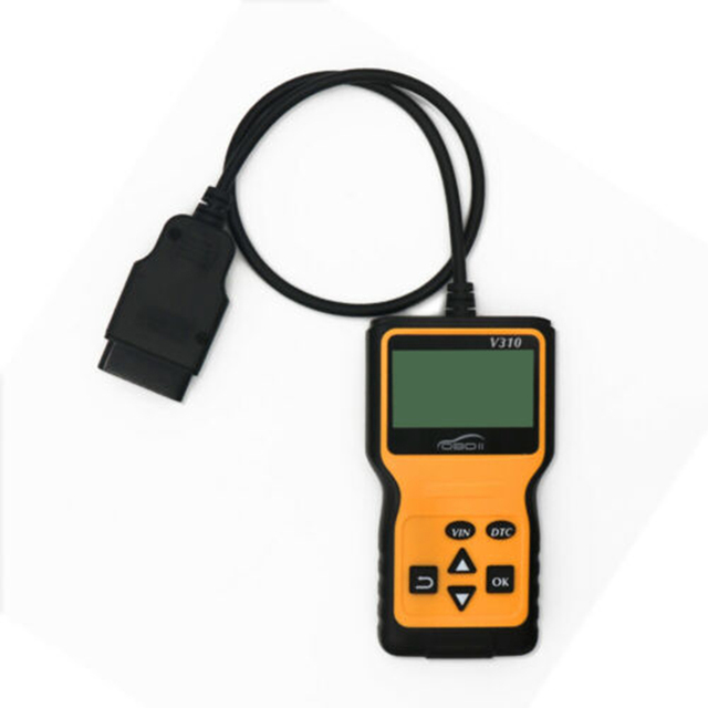 OBD2 herramienta de diagnóstico del coche Detector de fallas V310 escáner de diagnóstico Universal OBDII herramienta de diagnóstico del coche ODB2 comprobar el escáner del motor