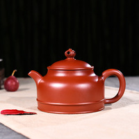 280ml Yixing Zisha Teapot Famous Master All Handmade Da Hong Pao Foyuan Tea Pot Kung Fu Purple Clay Tea Kettle Free Shipping