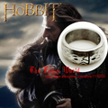 Hobbit drawf Thorin Oakenshield Ring Hobbit The Lord of Rings LOTR fashion men jewelry