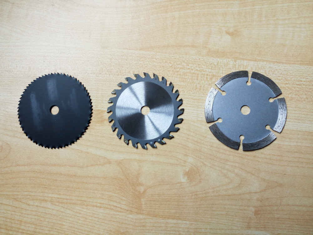 1set TCT circular blade 24T / diamond cutting disc / HSS cutting disc for multi function mini circular saw dia 85mm hole 10mm 10pcs lot 3 3 8 inch diamond blades for electric mini circular saw accessories for multi function mini saw inner dia 15mm