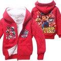 3-7 Anos de Idade Do Bebê Roupas de Algodão, 2016 Ano Novo Crianças Jaqueta Casaco de Inverno Casaco de Inverno das Crianças roupas Para Meninos