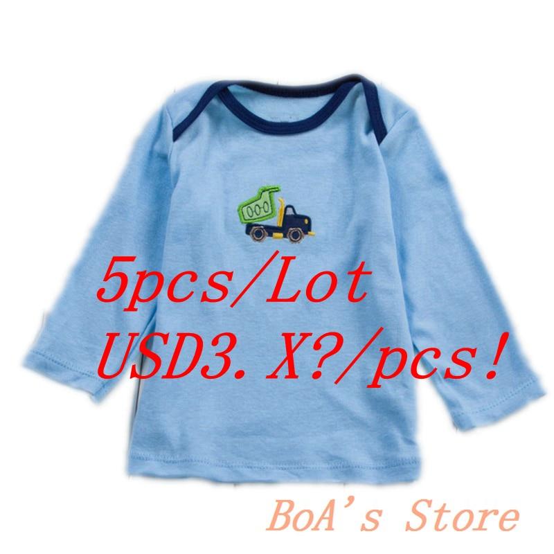 5 шт./упак. Обувь для мальчиков детские футболки 2017 г. брендовые осенние Детская одежда, футболка одежда для мальчиков и девочек Стиль постав...