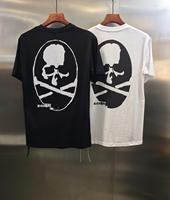 2019 Summer Style Top Grade 1:1 Mastermind Japan Women men Logo Printed T shirts tees Hiphop Streetwear Men Cotton T shirt MMJ