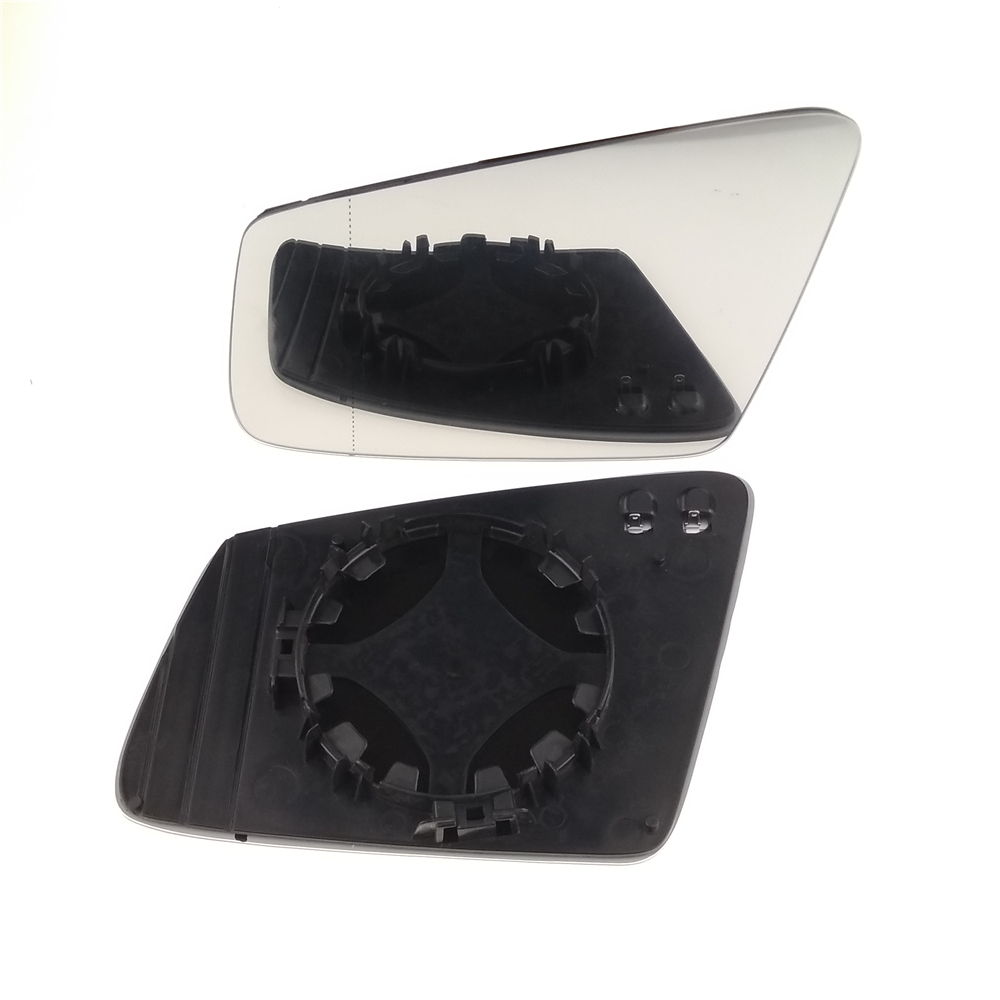 Pour Mercedes Benz C216 W C207 C218 W176 X164 W246 Ersatzglas Spiegelglas Côté Rétroviseur Aile Côté Miroir En Verre Chauffée