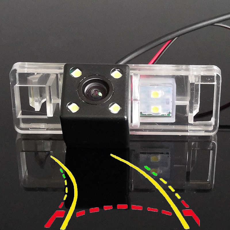 Trayectoria dinámica inteligente sigue la cámara de visión trasera del coche para Nissan Sunny Armada Juke Patrol x-trail Qashqai Pathfinder nota