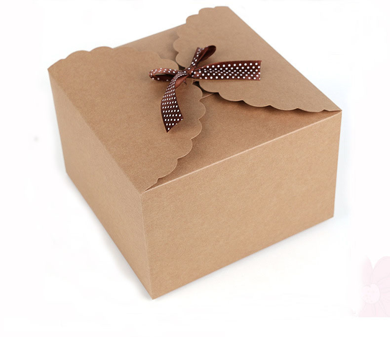 Chocolate Brown Cake Boxes