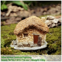 Small House Lights Garden Decoration