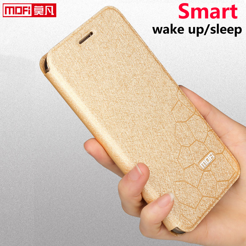 OnePlus 5 Case OnePlus 5 Cover Case Leather Matte Glitter Mofi Flip Funda Soft Silicone Back Coque One Plus A5000 OnePlus 5 Case