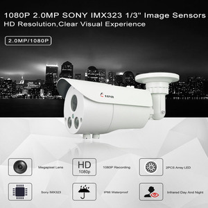 Image 4 - Keeper AHD 2.0MP 1080P SONY IMX323 Full HD Outdoor Waterproof Security Video Surveillance CCTV Camera With Varifocal 2.8 12 Lens