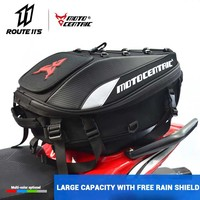 2019 New Motorcycle Tail Bag Multifunction Waterproof Motorcycle Box Rear Seat Bag High Capacity Motorcycle Rider Backpack #