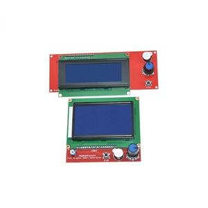 Image 3 - Controlador de piezas inteligentes rampas 1,4 LCD 12864, Panel de Control LCD 12864/2004, Monitor de pantalla, placa base, módulo de pantalla azul, 1 ud.