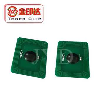 8x カラーレーザーチップカートリッジ 45862840 45862837 45862852 45862849 互換のための oki MC853 MC873 MC 853 873 トナーチップ