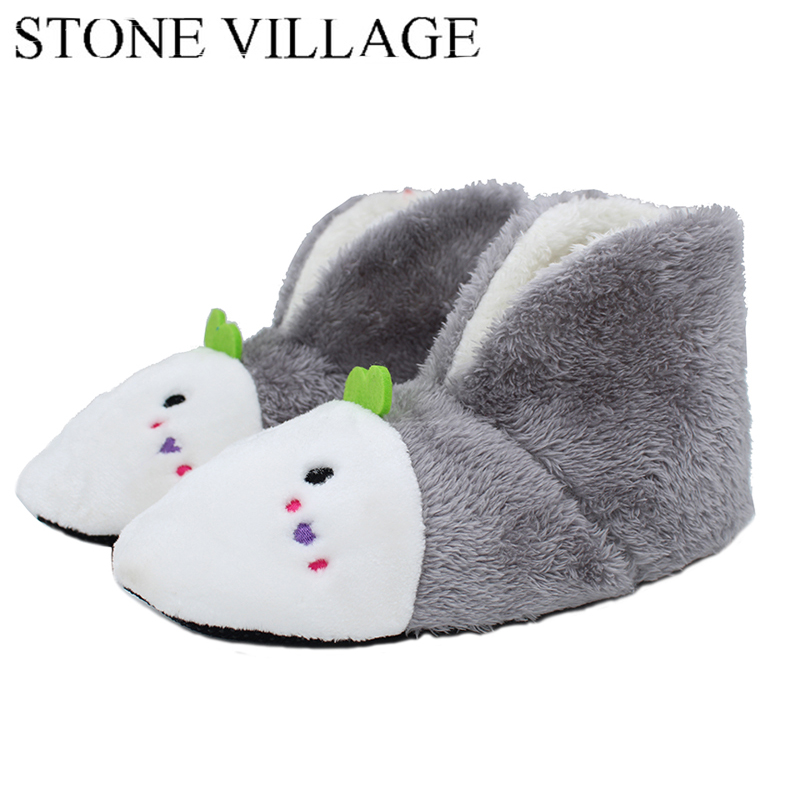 5 Colors 2018 Plush Warm  Home Slippers Winter Comfortable Indoor Soft  Fur Slippers Animal Print  Cartoon Cute Women Slippers flat fur women slippers 2017 fashion leisure open toe women indoor slippers fur high quality soft plush lady furry slippers