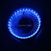 1PCS Eclipse Quiet PLM 120mm DC 12v 3 4pin 32 Light LED Computer Case Fan For