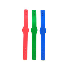 125KHZ EM4100 TK4100 RFID Tag Card Wristband Waterproof Silicone Bracelet Only Read