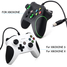 Video Game Wired USB Gamepad Joystick Joypad Handle for Microsoft xbox one XBOXONE SLIM X  XBOXONE S With 3.5MM Headset Jack