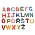De marketing Hot 26 pcs Geladeira Ímãs Aprendizagem Precoce Montessori Brinquedos Educativos De Madeira Brinquedos de Matemática Inglês Alfabeto W089