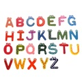 Hot marketing 26pcs Fridge Magnets Early Learning Montessori Educational Toys Wooden Math Toys English Alphabet W089