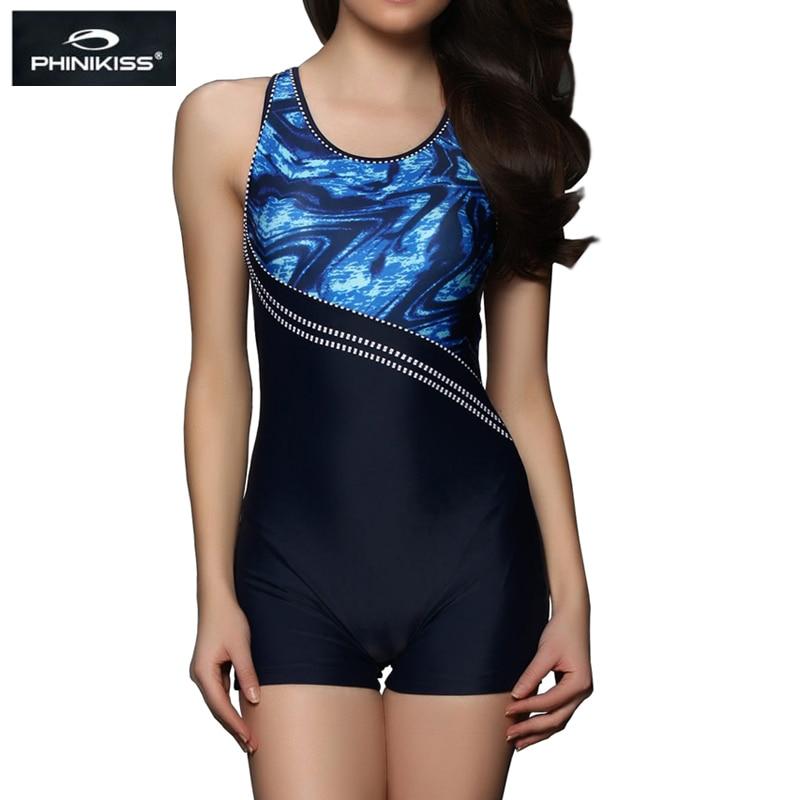 PHINIKISS Plakátové plavky Plavky Velké velikosti Jednodílné obleky Profesionální plavky Sportovní soupravy na koupání 2018 Triatlon