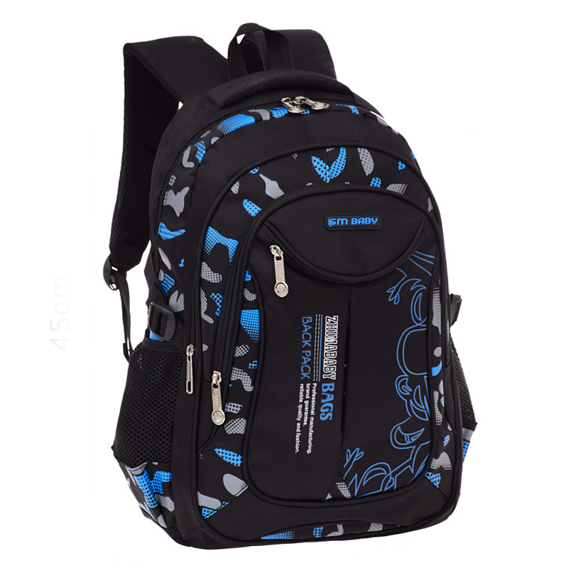 RUIPAI School Bags for Teenage Boys Girls Waterproof School Backpack Fashion Knapsack Student Book Bag Children Backpacks twenty one pilots backpack for teenage boys girls student school bags children daily bag hip hop backpack with pencil bag