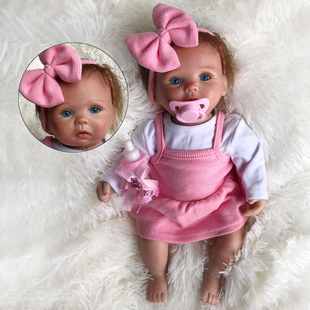 35 cm Zachte Siliconen Reborn Baby Pop Speelgoed Levensechte Mooie Knappe Mini Nreborn Baby Pop Mode Verjaardagscadeau Speciale Aanwezig-in Poppen van Speelgoed & Hobbies op  Groep 1