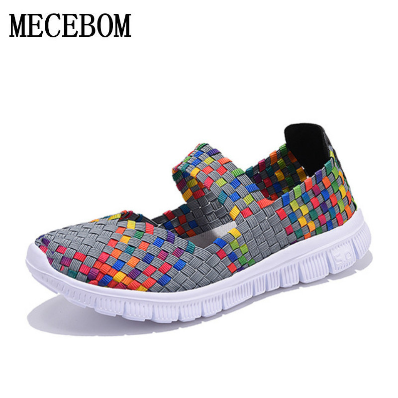Women Shoes 2018 Summer Breathable Fashion Lady's Casual Shoes Lace up Girls Handmade Women Woven Shoes flip flop footwear 599W women s shoes 2017 summer new fashion footwear women s air network flat shoes breathable comfortable casual shoes jdt103