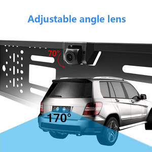 Image 2 - OTERLEEK WIFI License Plate Rear View Camera Wifi Back Up Camera for ipad  for iPhone Android and Car GPS