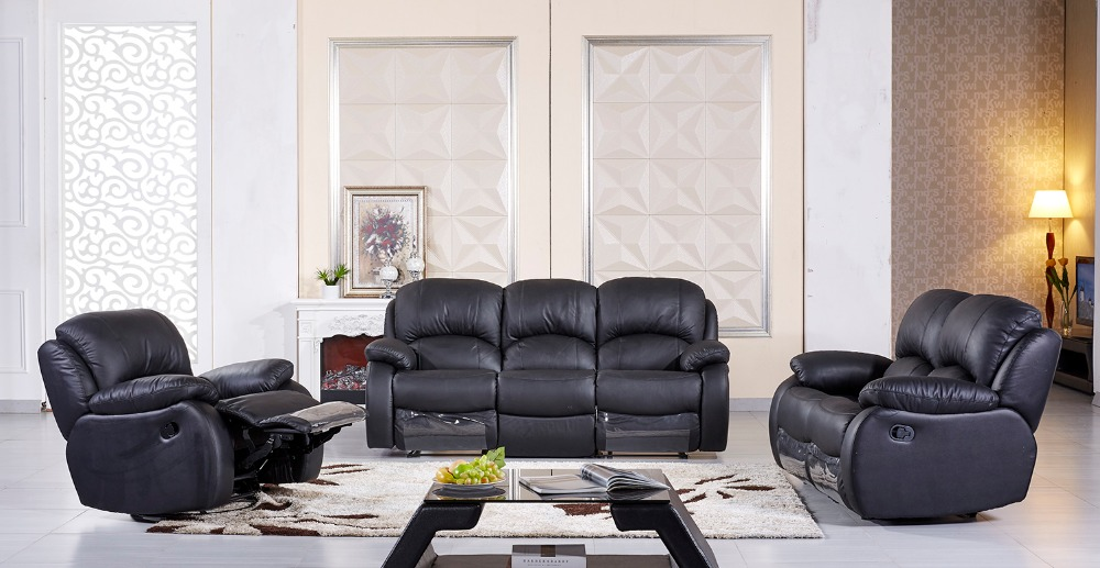 Bean Bag Chair Real European Style Set Modern No Genuine Leather Sectional Sofa Chaise Armchair 2016