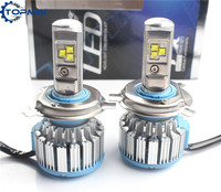 2017 Super Bright HB2 9003 H4 Led Car Headlight 8000LM 80W Set Driving Lamp Bulb Automotive