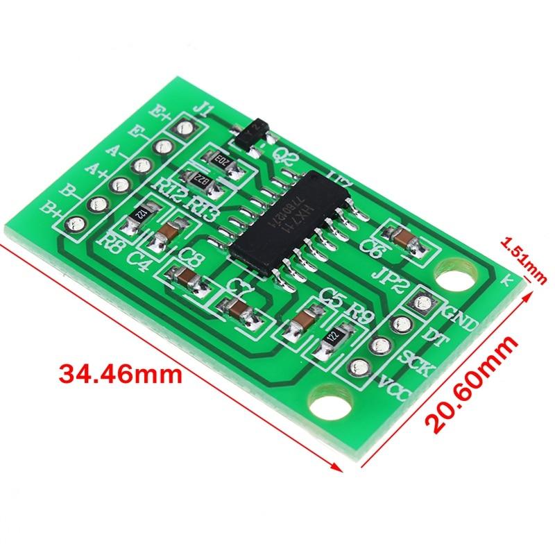 все цены на 4Pcs 50KG Human Scale Load Cell Weight Sensors+HX711 Module Body Load Cell Weighing Sensor Pressure Sensors Measurement ToolsTo онлайн