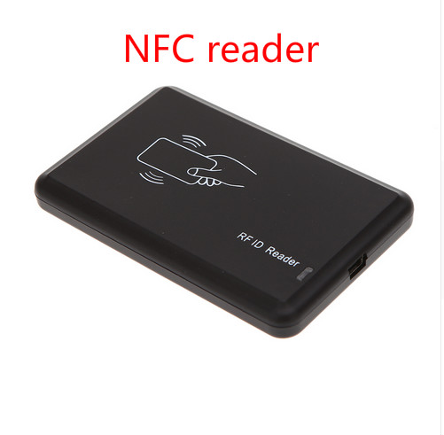 Free Shipping Access Control Contactless 14443A 13.56KHZ Smart IC Card Reader For Mifare NFC203/213/216 With USB NFC Reader