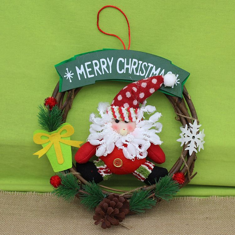 Fantastic Online Buy Wholesale Christmas Wreaths Sale From China Christmas Easy Diy Christmas Decorations Tissureus