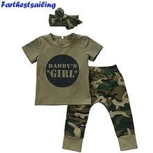 Vauvan Tyttöjen Pojat Vaatteet Set 2018 Uusi Summer Vastasyntynyt vauva tyttö vaatetus lyhythihainen t-paita vaatetus taapero naamiointi Outfits Set
