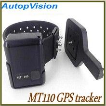 Nave rápida! en stock tobillo pulsera GPS rastreador con la correa para delincuentes, presos, reclusos, parolees mini GPS tracking viruta MT110