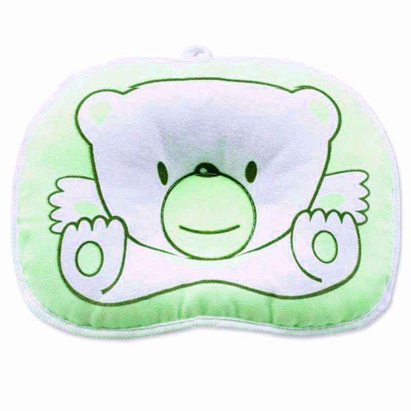 Green color bear beruang car seat pillow accessories at stkcar.com