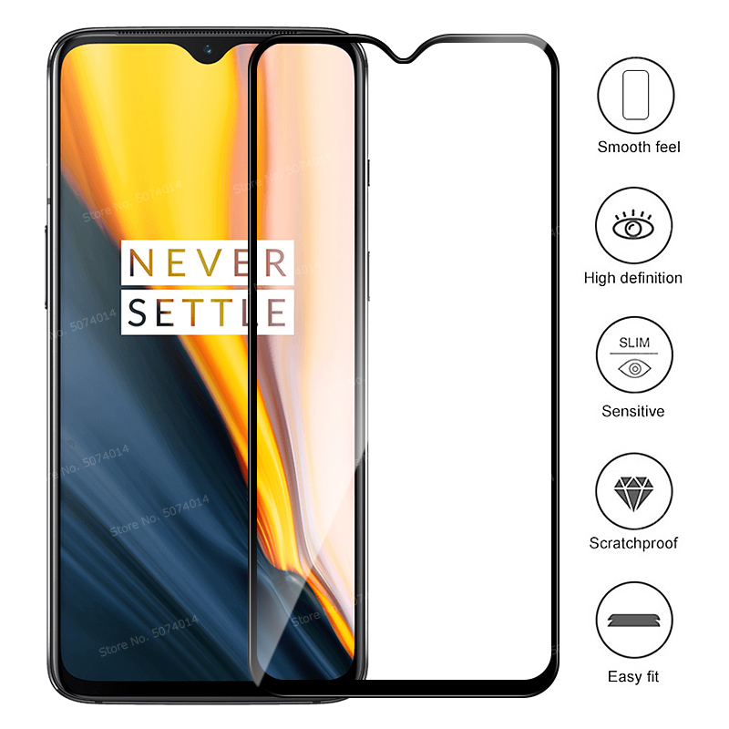 Image 2 - For OnePlus 7 One Plus 7 OnePlus7 Glass 9D Full Cover 9D Tempered Glass + Back Camera lens Film Screen Protector For 1+7 1 Plus7-in Phone Screen Protectors from Cellphones & Telecommunications