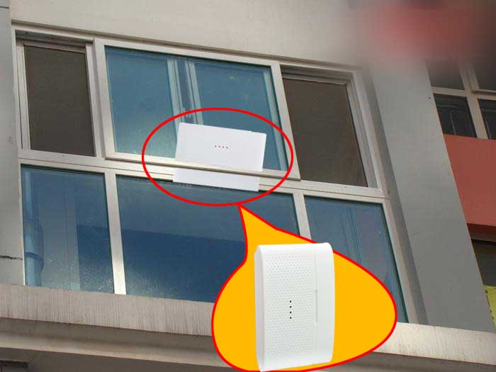 Detector alarm GSMWOND Keyboard 11