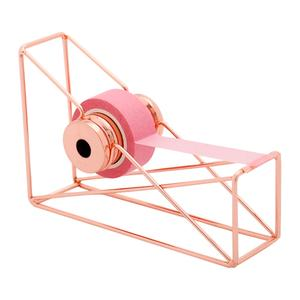 Organizer Cutter Stationery Tape-Dispenser Washi-Tape-Storage Office-Supplies Rose-Gold