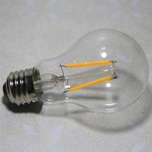 LED Filament Lamp E27/E26/E14 2w 4w 6w 8w LED Globe Bubble Ball Bulb Candle A60 G45 C35 220V 120V