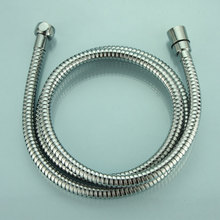 Plumbing Hoses stretching flexible 1.5m shower hoses Stainless Steel tube pipe fro bathroom 360-degree rotate