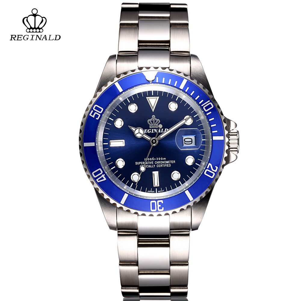 Genuine Brand Mens Watches Top Brand Luxury Full Steel Green Quartz Watch Fashion Business Watch Men Male Wrist Watches Clock xinge top brand luxury leather strap military watches male sport clock business 2017 quartz men fashion wrist watches xg1080