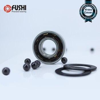 6005 6305 60/28 62/28 63/28 roulement en céramique hybride ABEC 1 (1 pièce) roulements à billes hybrides de broche de moteur d'industrie Si3N4 3NC HC|Roulements|   -