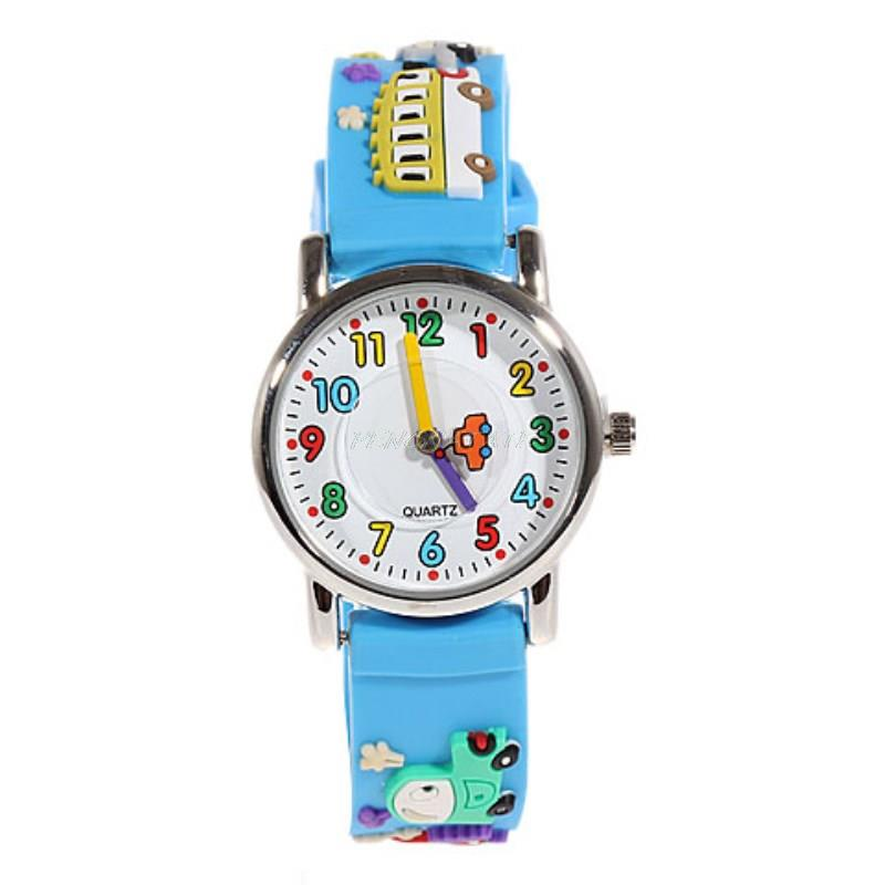 Willis 3D Car Rubber Strap Quartz Watches Luxury Brand Waterproof Fashion Children Qlastic Watches Clock Child Watch PENGNATATE цена 2017