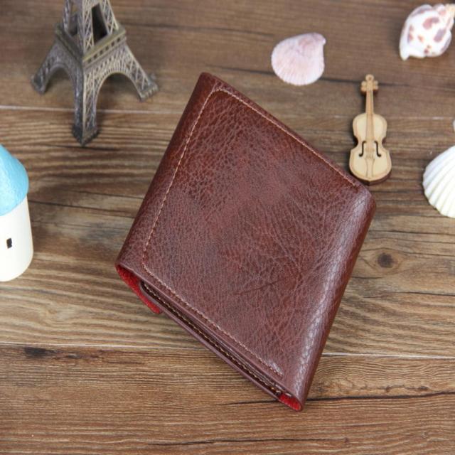 Small wallet men multifunction purse men wallets pocket men leather wallet male famous brand money bag Men Wallets