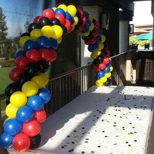 Image 4 - Cyuan בלון קשת זרי ערכות פלסטיק טור Stand תיבת בלון לטקס Ballons שרשרת קליפים עבור יום הולדת מסיבת חתונת דקור