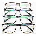 Exceder luz tungstênio titanium aço plástico armação de óculos senhora arquivos vai imagem miopia quadro maré homem óculos oculista