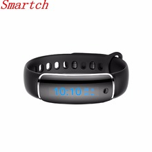 Smartch Смарт Браслет Часы Приборы для измерения артериального давления пульсометр Фитнес трекер Шагомер OLED Экран V8 здоровья bloot