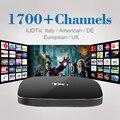 Caixa de IPTV Caixa Smart TV S805 Wi-fi HD Media Player com HD Livre IUDTV 1700 Canais IPTV 1 Ano de Assinatura da Europa Set-top caixa