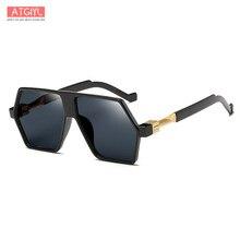 a14dc05af9ad7 2018 novo estilo de óculos de sol, óculos Europeus e Americanos na moda e  óculos de sol coloridos, moda irregular, retro dos ócu.