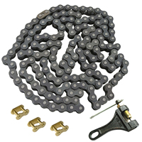 Chain Breaker & Chain Master Link & Motorcycle 530 Chain 150 Link Fit ATV Quad Pit Dirt Bike With 1 Master Link